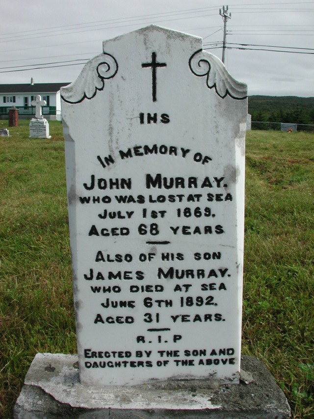 MURRAY, John (1869) & James (1892) STM01-2373