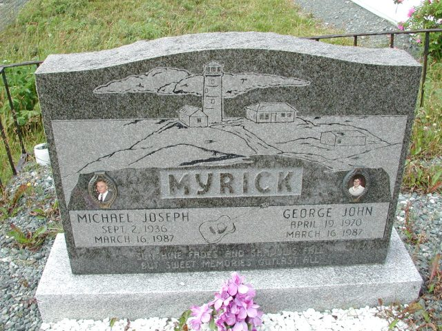 MYRICK, Michael Joseph (1987) & George John SSH01-8995