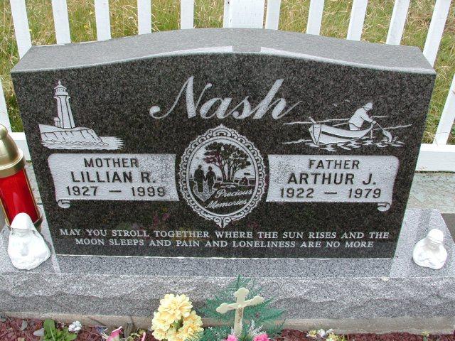 NASH, Arthur J (1979) & Lillian R (1999) BRA01-3141
