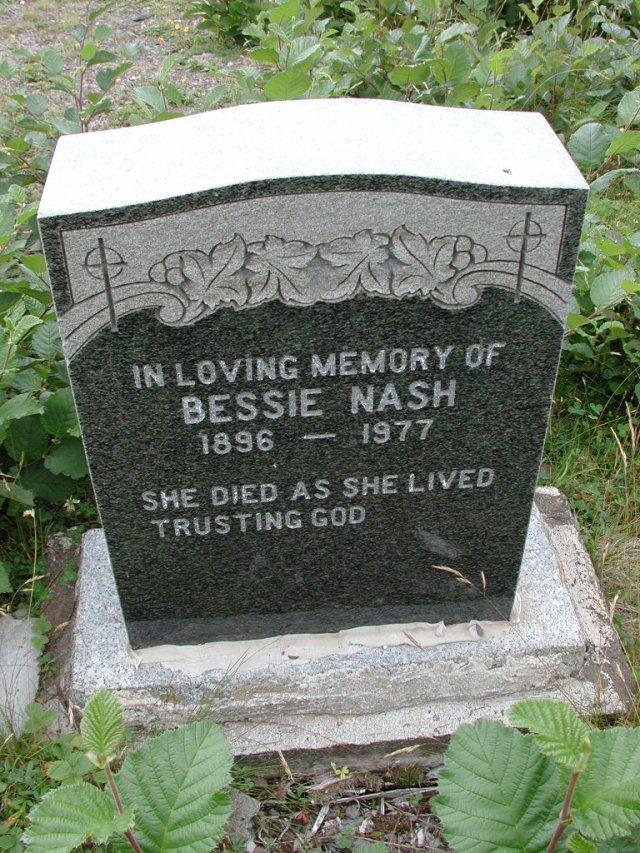NASH, Bessie (1977) BRA01-3170
