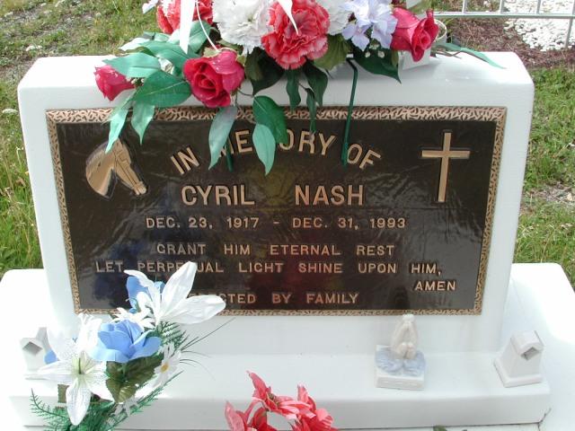 NASH, Cyril (1993) BRA01-3263