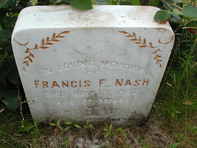 NASH, Francis F (1967) BRA01-3179
