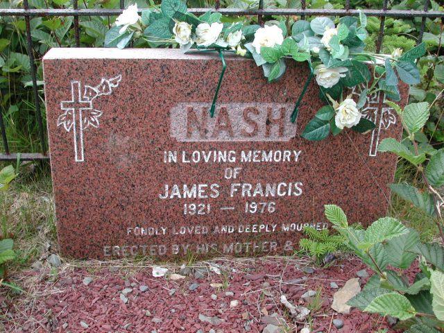 NASH, James Francis (1976) BRA01-7786