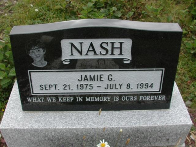 NASH, Jamie G (1994) BRA01-3212