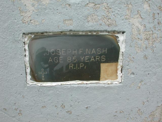 NASH, Joseph F (xxxx) BRA01-7732