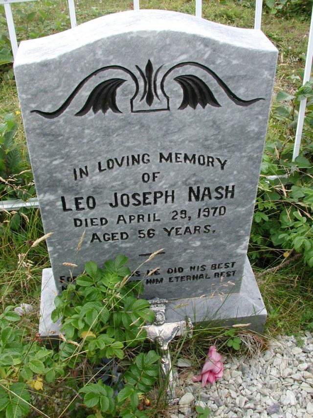 NASH, Leo Joseph (1970) BRA01-3142