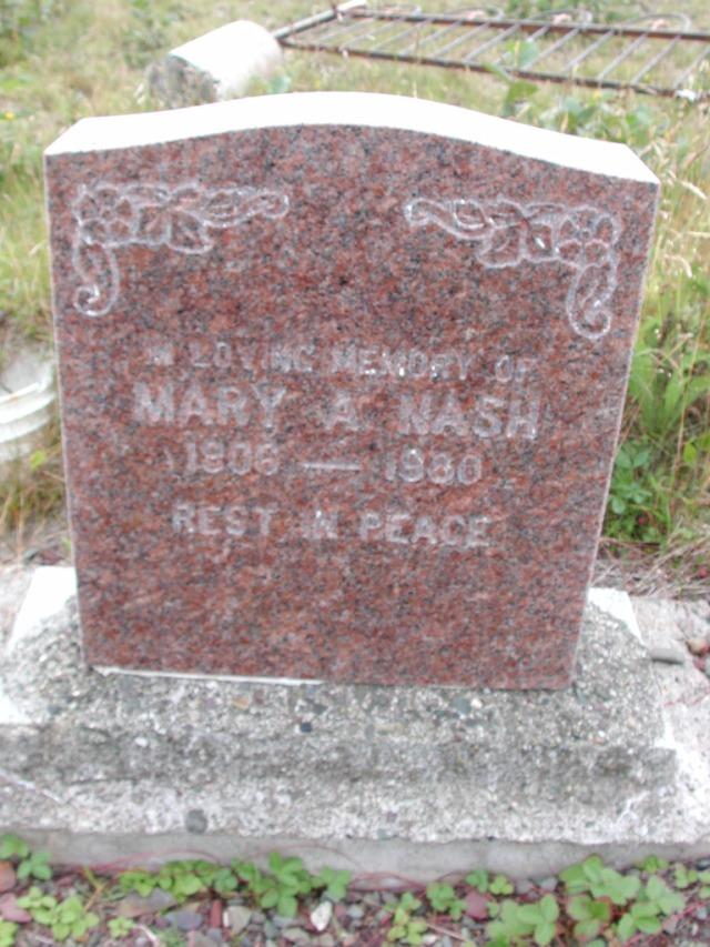 NASH, Mary A (1980) BRA01-3216