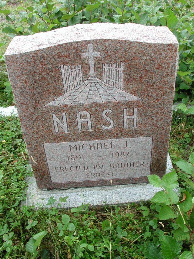 NASH, Michael J (1987) BRA01-3169