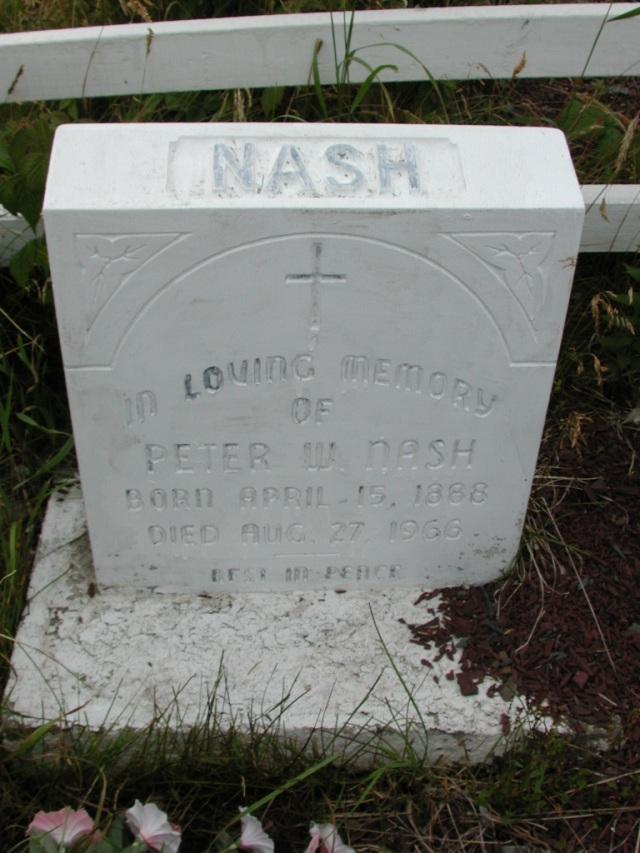 NASH, Peter W (1966) BRA01-3201