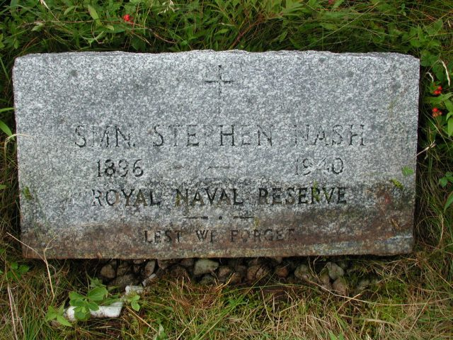 NASH, Stephen (1940) BRA01-3180