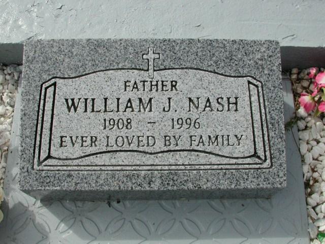 NASH, William J (1996) BRA01-3265