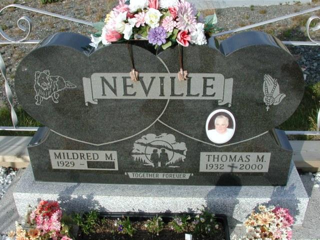 NEVILLE, Thomas M (2000) & Mildred M STM03-9410