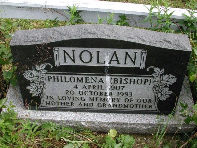 NOLAN, Philomena Bishop (1993) STM01-8279