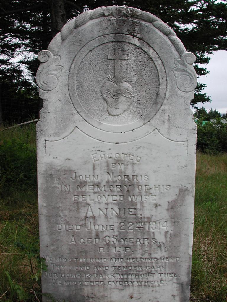 NORRIS, Annie (1914) SJP01-1748