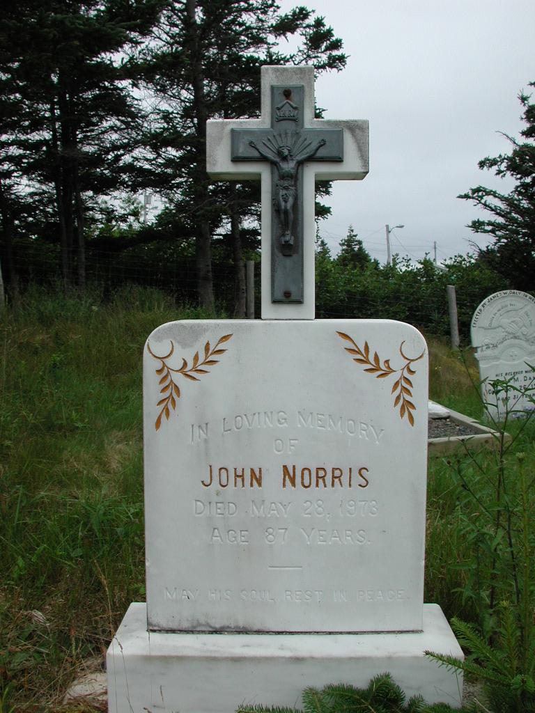 NORRIS, John (1973) SJP01-1750