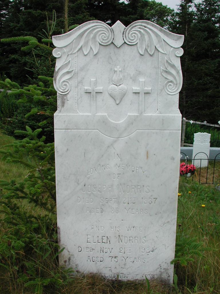 NORRIS, Joseph (1937) & Ellen (1934) SJP01-1823