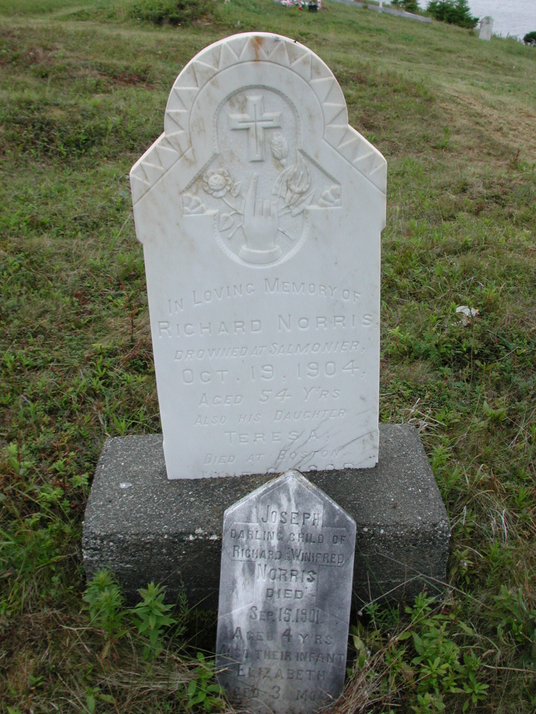 NORRIS, Richard (1904) & Teresa & others SJP01-7598
