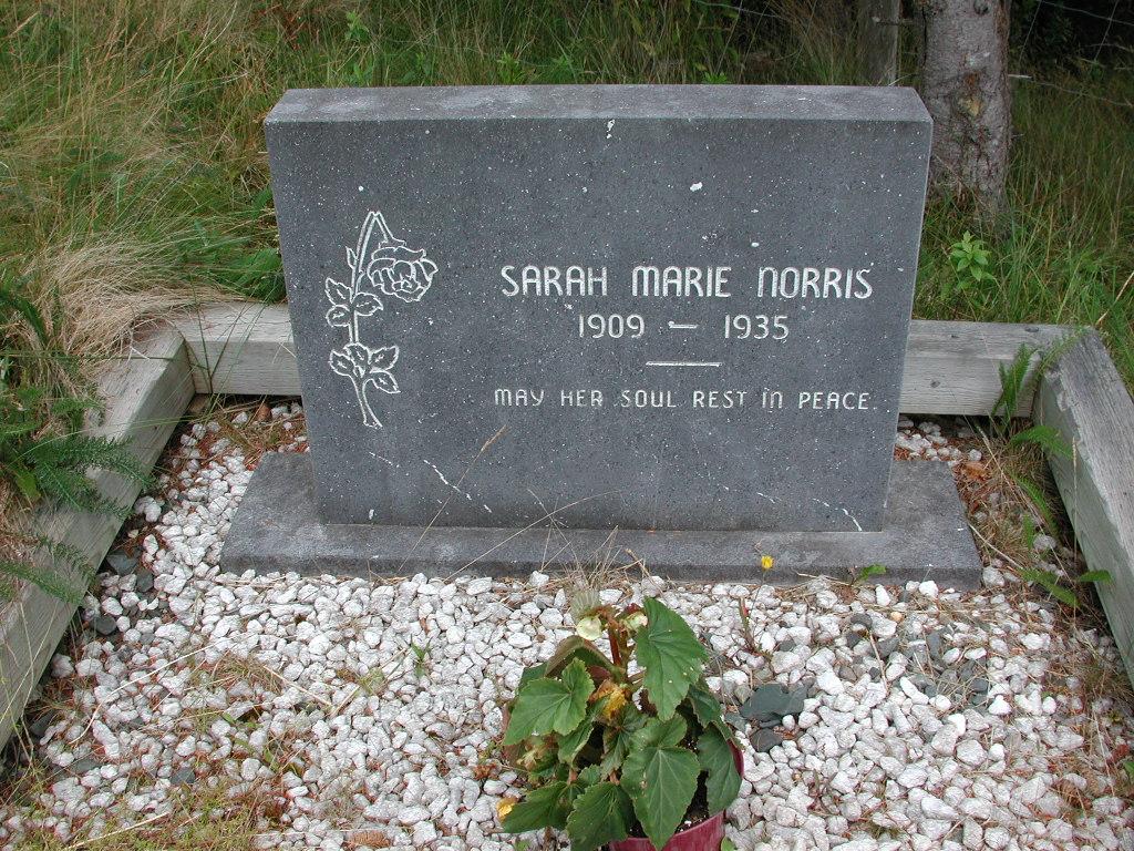 NORRIS, Sarah Marie (1935) SJP01-1784