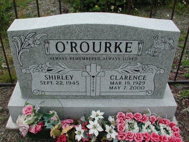 OROURKE, Clarence (2000) & Shirley BRA01-3162