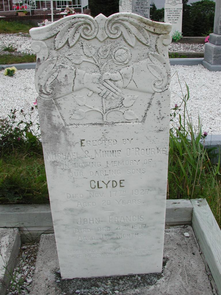 OROURKE, Clyde (1927) & John Francis (1907) SJP01-7399