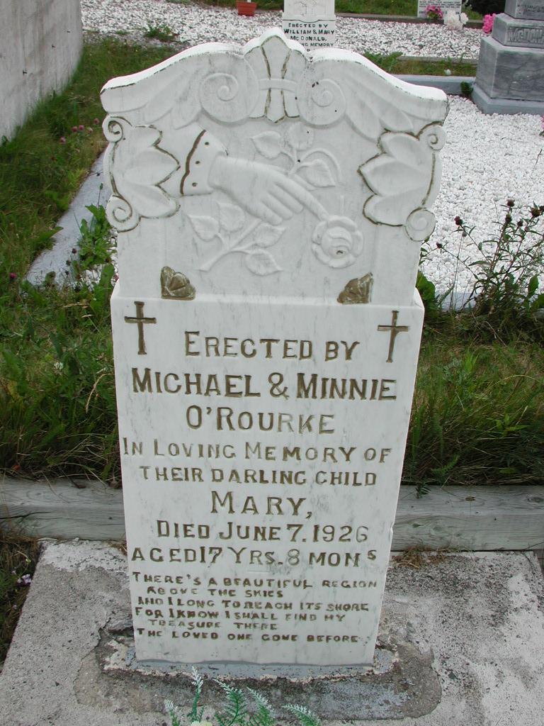 OROURKE, Mary (1926) SJP01-7400