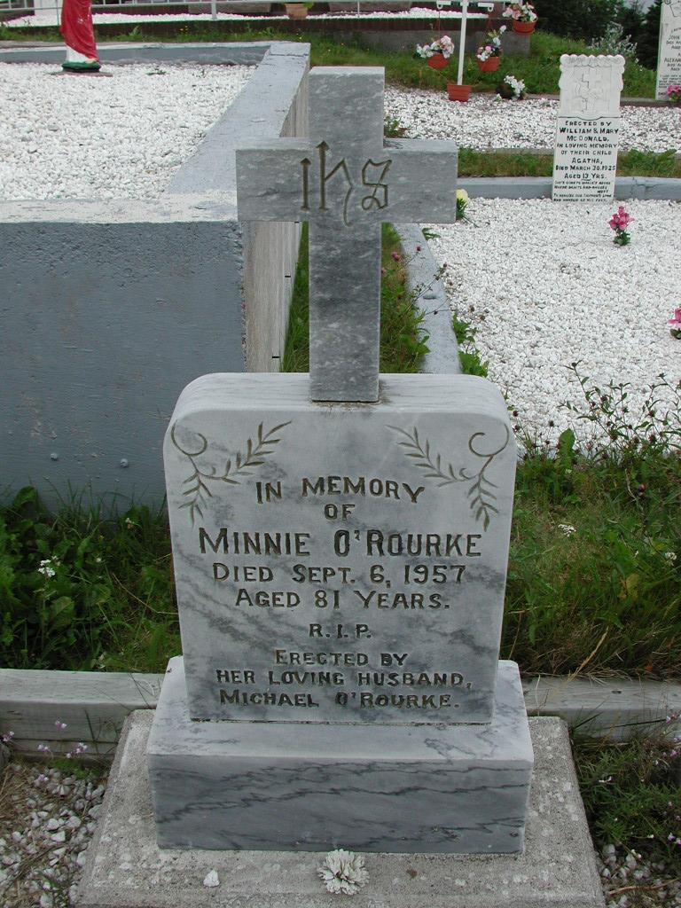 OROURKE, Minnie (1957) SJP01-7401