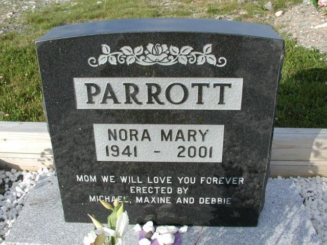 PARROTT, Nora Mary (2001) STM03-9398