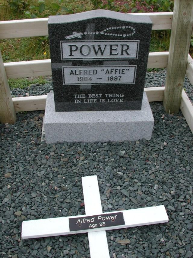 POWER, Alfred Affie (1997) BRA01-3130