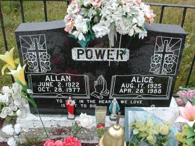 POWER, Allan (1977) & Alice (1988) BRA01-3135