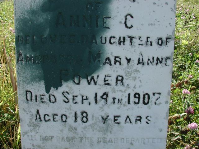 POWER, Annie C (1907) BRA02-3336