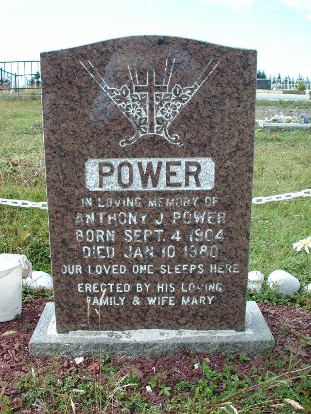 POWER, Anthony J (1980) BRA01-7819