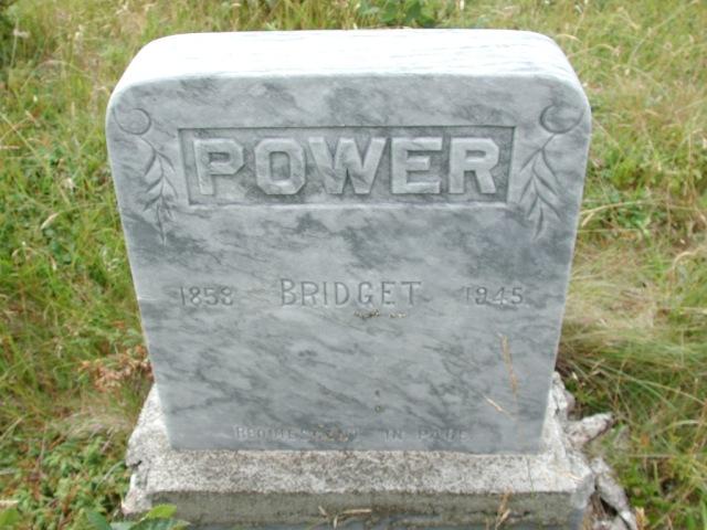 POWER, Bridget (1945) BRA01-3221
