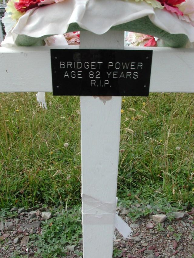 POWER, Bridget (xxxx) BRA01-3274