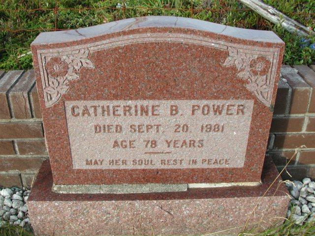 POWER, Catherine B (1981) STM03-9479