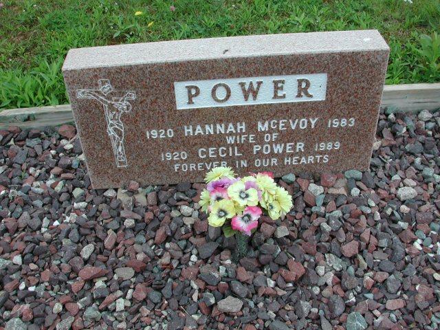 POWER, Cecil (1989) & Hannah McEvoy (1983) ODN02-2029