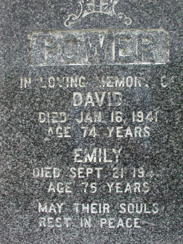 POWER, David (1941) & Emily (1944) BRA01-7724
