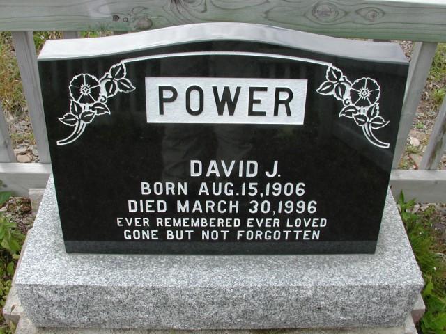 POWER, David J (1996) BRA01-3239