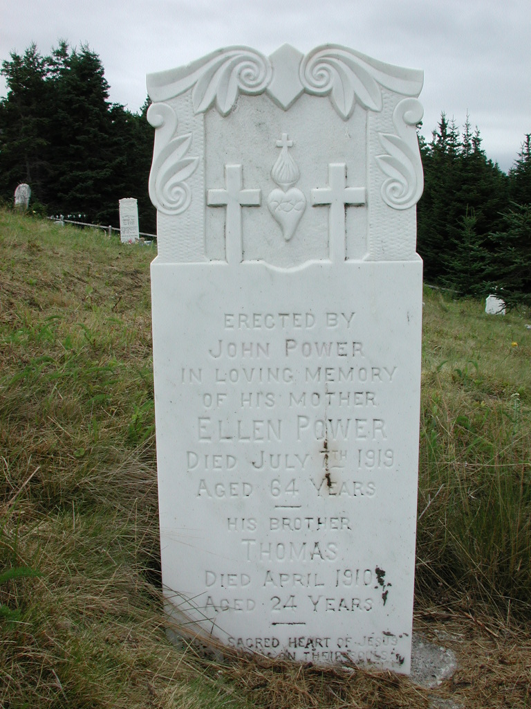 POWER, Ellen (1919) & Thomas (1910) SJP01-1906