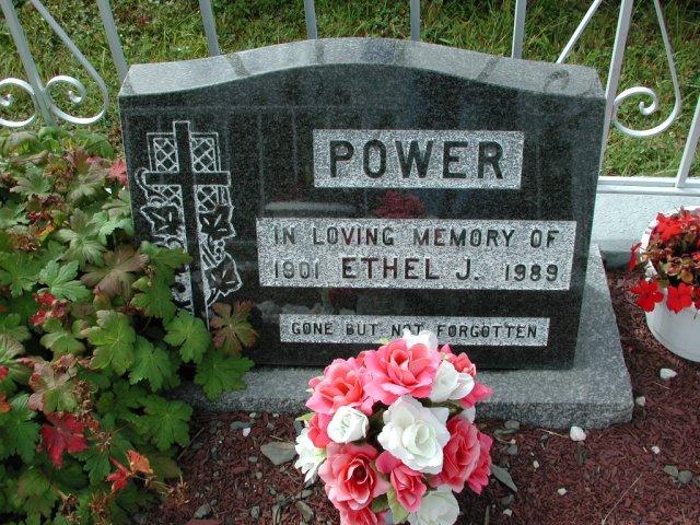 POWER, Ethel J (1989) BRA01-7810