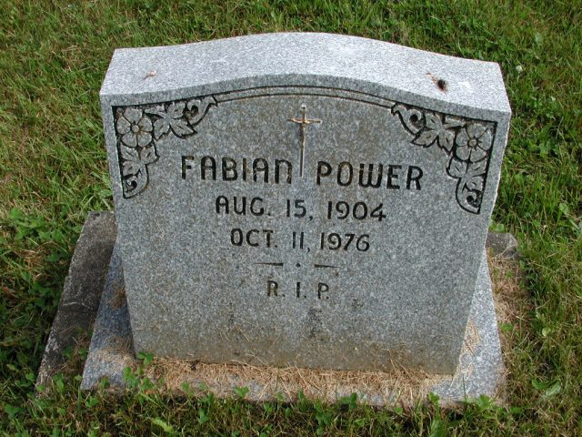 POWER, Fabian (1976) STM01-8255