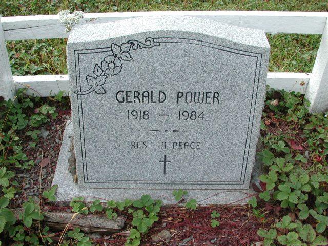 POWER, Gerald (1984) BRA01-7814