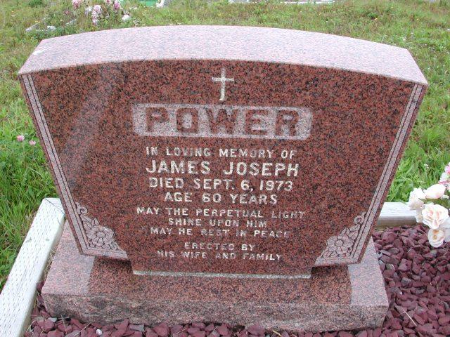 POWER, James Joseph (1973) ODN02-7796