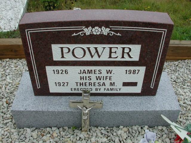 POWER, James W (1987) & Theresa M ODN02-7800