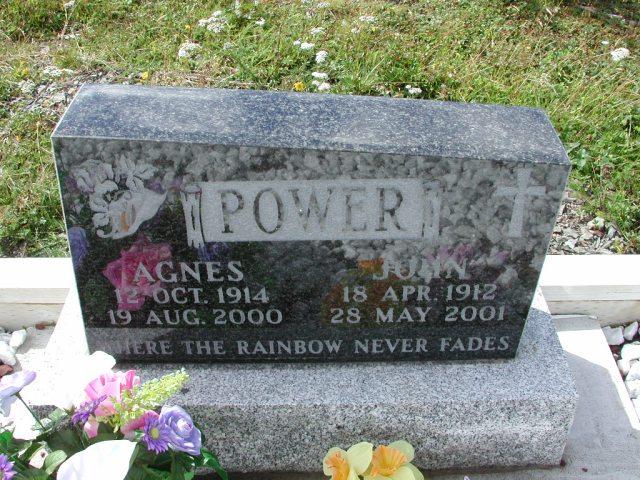 POWER, John (2001) & Agnes (2000) BRA01-3290