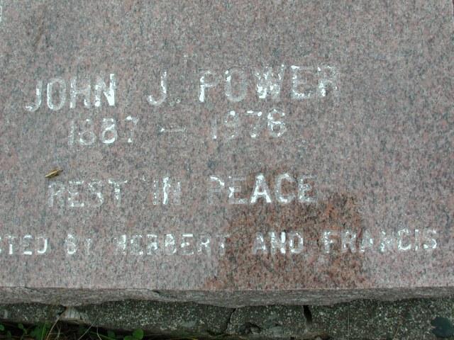 POWER, John J (1976) BRA01-7685