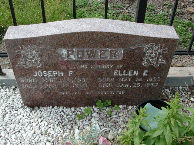 POWER, Joseph F (1983) & Ellen E (1983) BRA01-3279