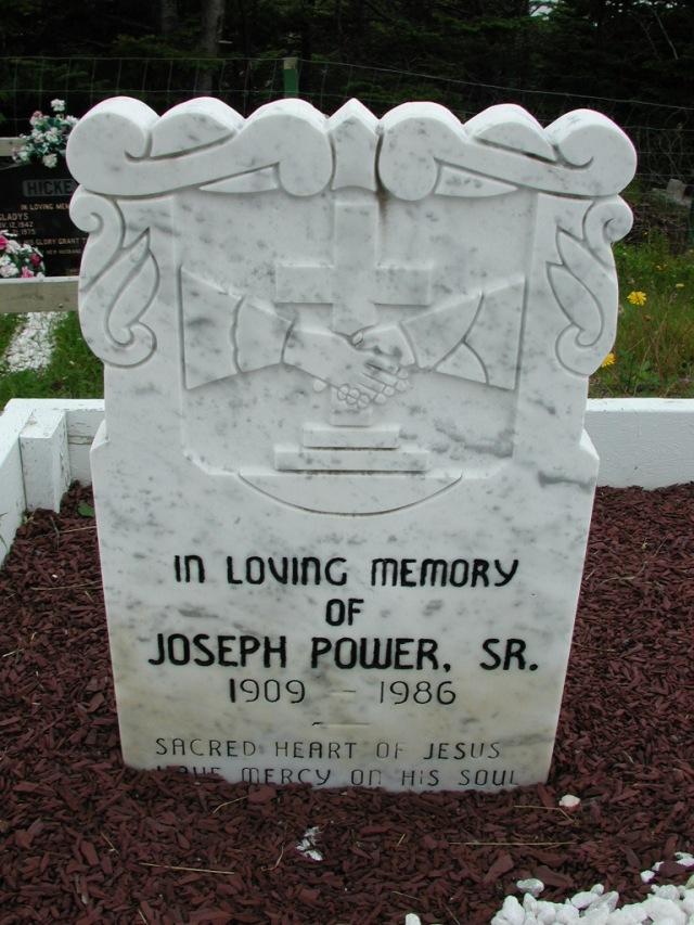 POWER, Joseph Sr (1986) ODN02-7771