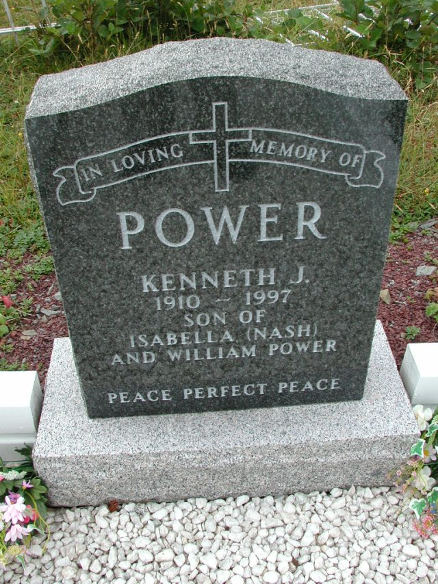 POWER, Kenneth J (1997) BRA01-3131