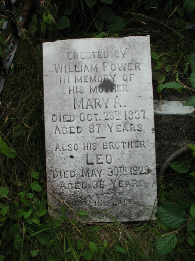 POWER, Mary A (1937) & Leo (1929) BRA01-7761