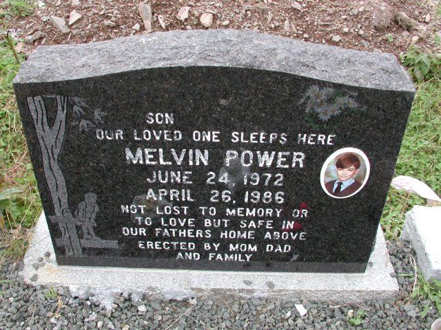 POWER, Melvin (1986) BRA01-3187